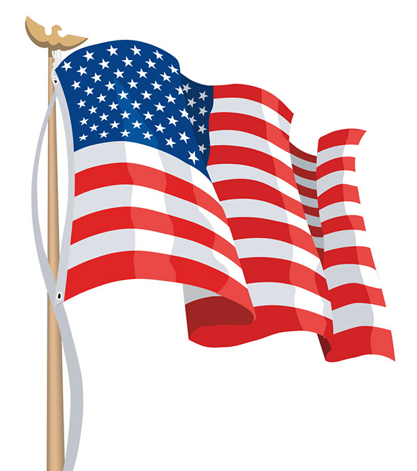 American flag clip art flag american dayasriod top clipartix