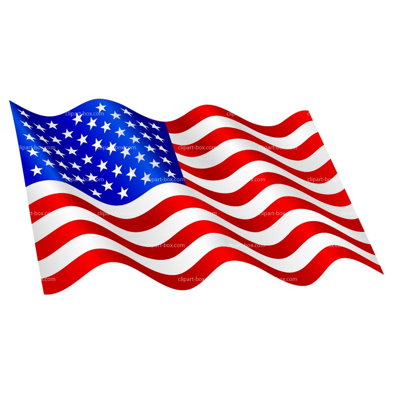 American flag clipart free usa graphics clipartcow heart shaped