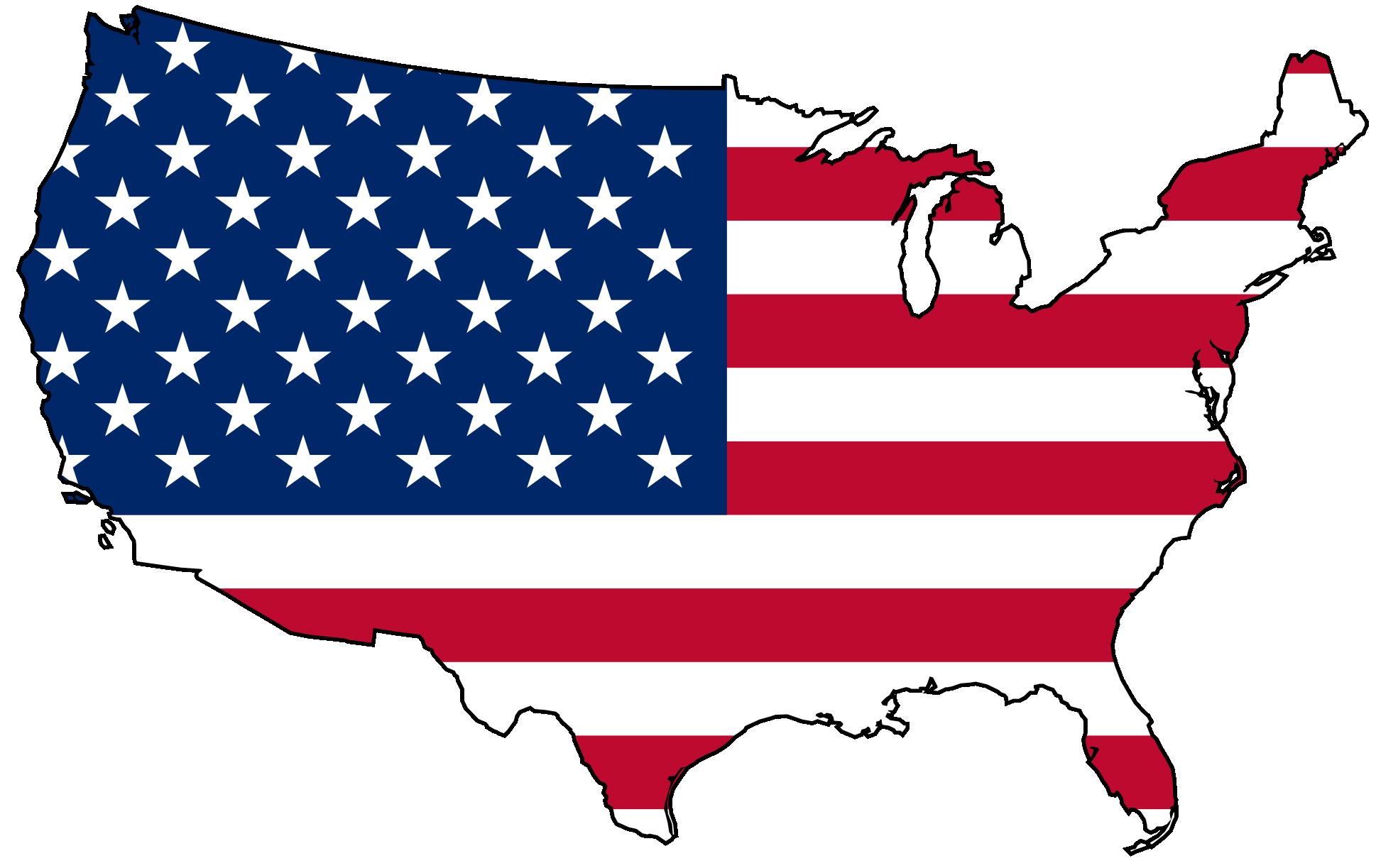 American flag usa flag clipart clipart