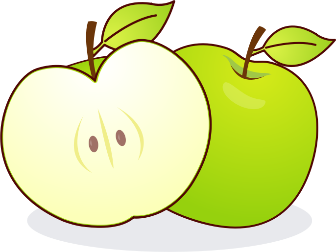 Apple free to use cliparts 2
