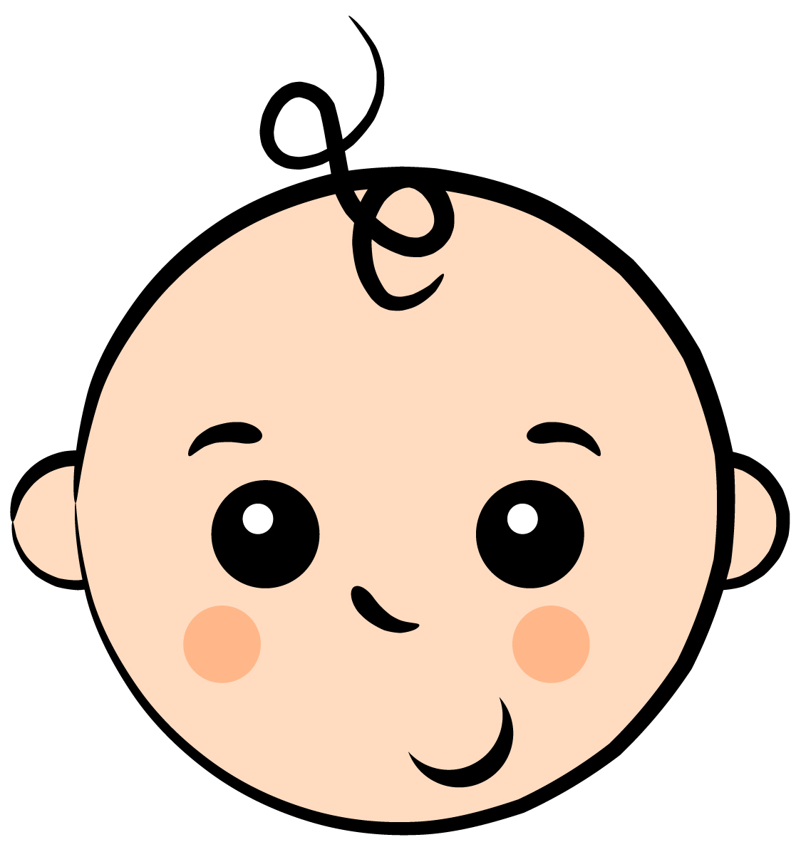75 free baby clip art cliparting baby boy face clipart clipartcow buycottarizona Gallery
