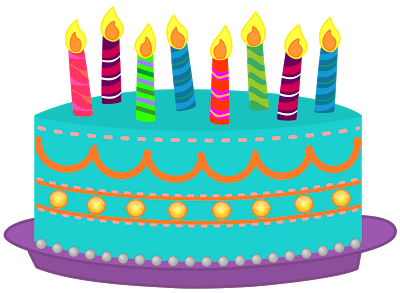 Birthday clipart 4