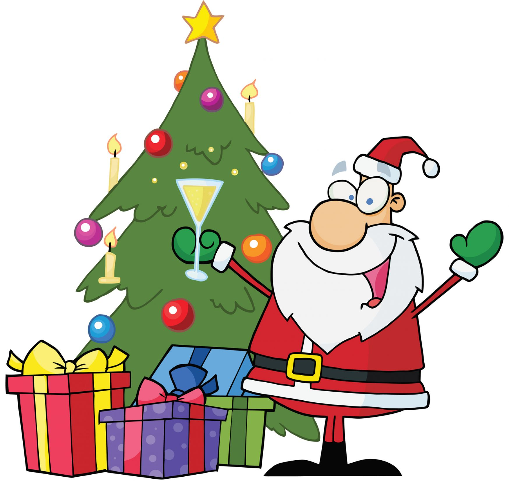 Christmas drinks clipart images