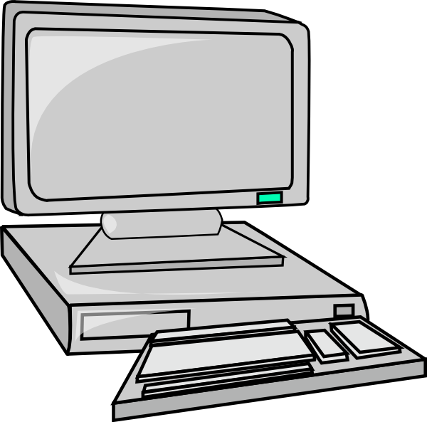 Computer free to use clipart