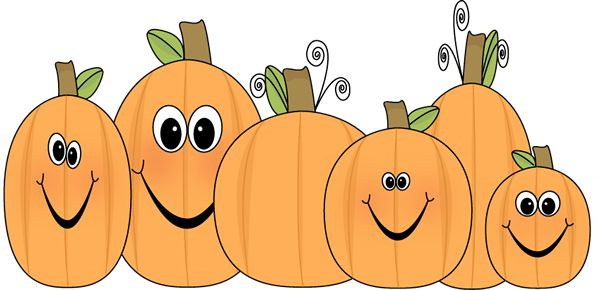 Cute pumpkin clip art pumpkin patch clip art image patch of