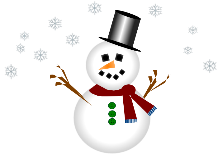 Cute snowman graphics and animations clip art