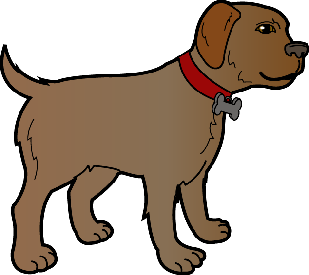 Dog clipart 4