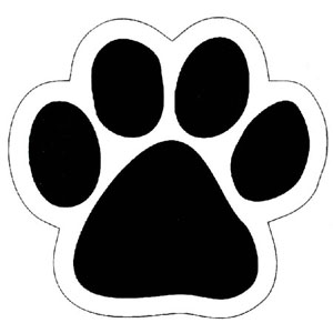 Dog paw print clip art free download free 3