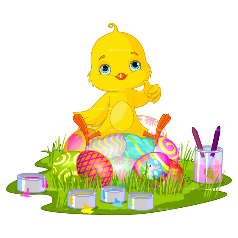 Easter chick clipart clipartdofree