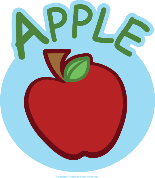 Free apple clipart 2