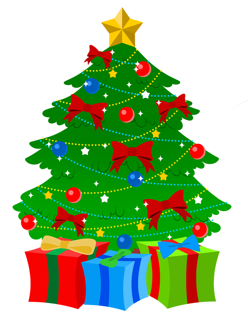 Free christmas tree clipart public domain christmas clip art 2