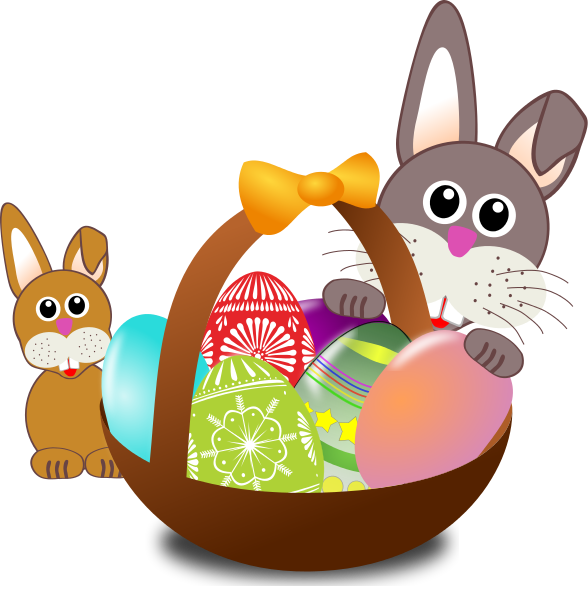 Free easter clipart easter basket3
