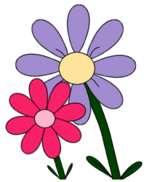 Free flower clip art for all your projects