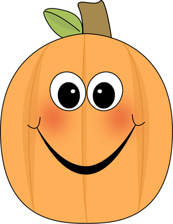 Happy pumpkin clipart