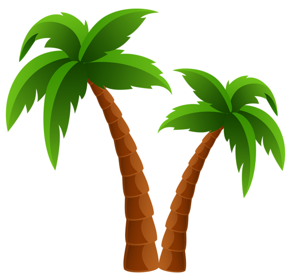 Palm tree art tropical palm trees clip art clip art palm tree 5