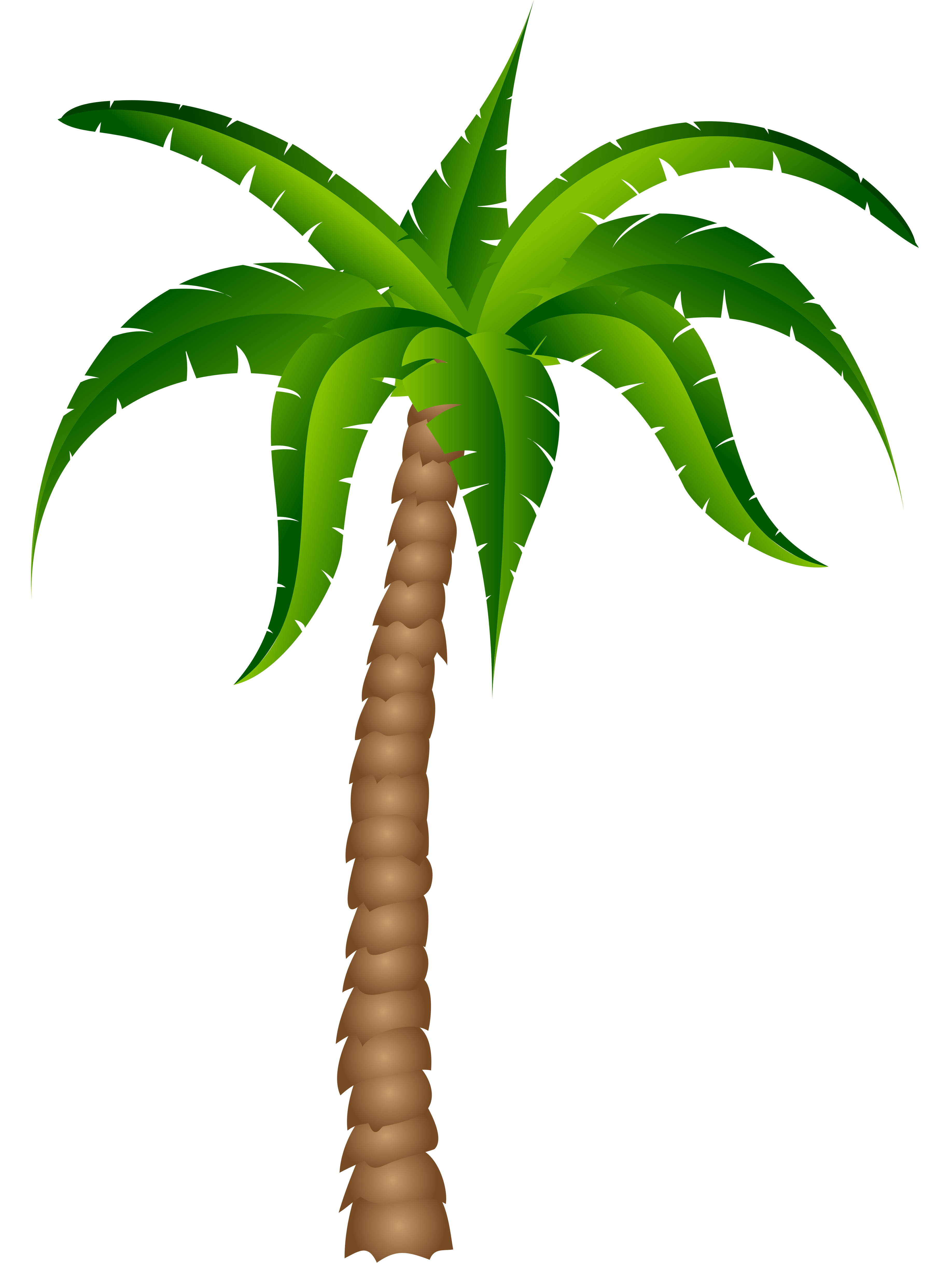 Palm tree palm silhouette clipart clipartcow 2  Cliparting.com