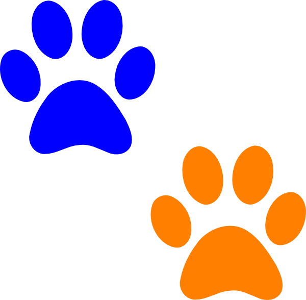 Paw print clip art others image 0