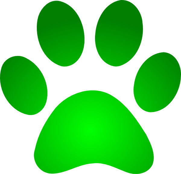 Paw print tattoos on dog paw prints scroll tattoos clipart
