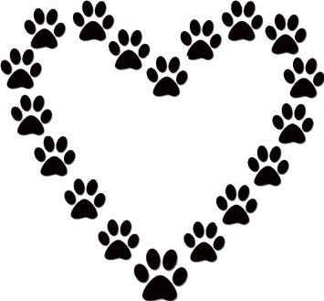 Paw print wildcats on dog paws dog paw tattoos and clip art image 7