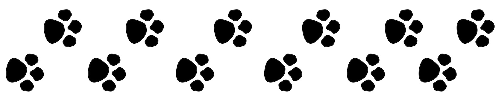 Photos of paw prints animal clip art animal paw prints