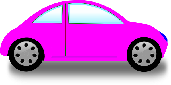Pink car clip art at clker vector clip art