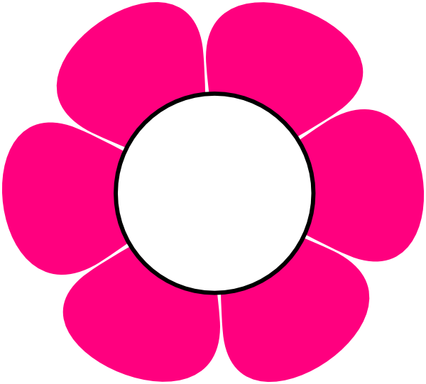 Pink flower clip art images clipart