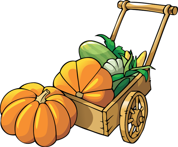 Pumpkin clipart fall on happy halloween scarecrows and clip art