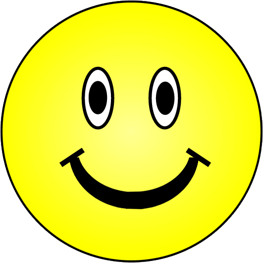 Smiley face happy face clip art that canpy and paste