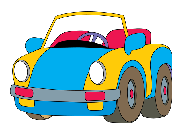 Speeding car clipart free clipart images 2 clipartcow 2