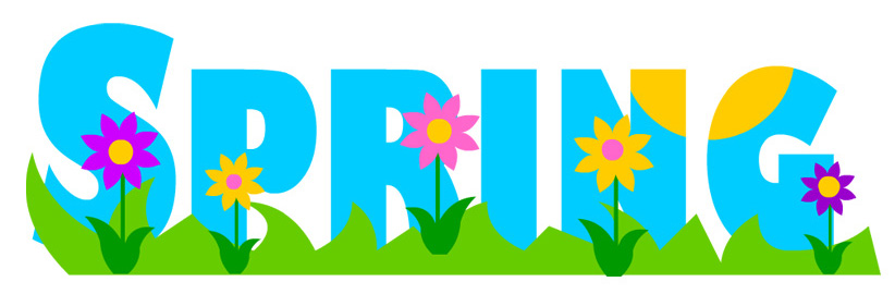Spring clip art for teachers free clipart images