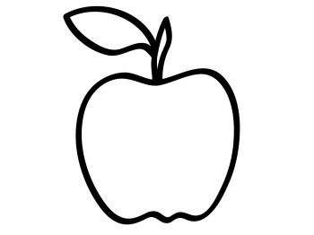 Teacher apple clipart free clipart images 6