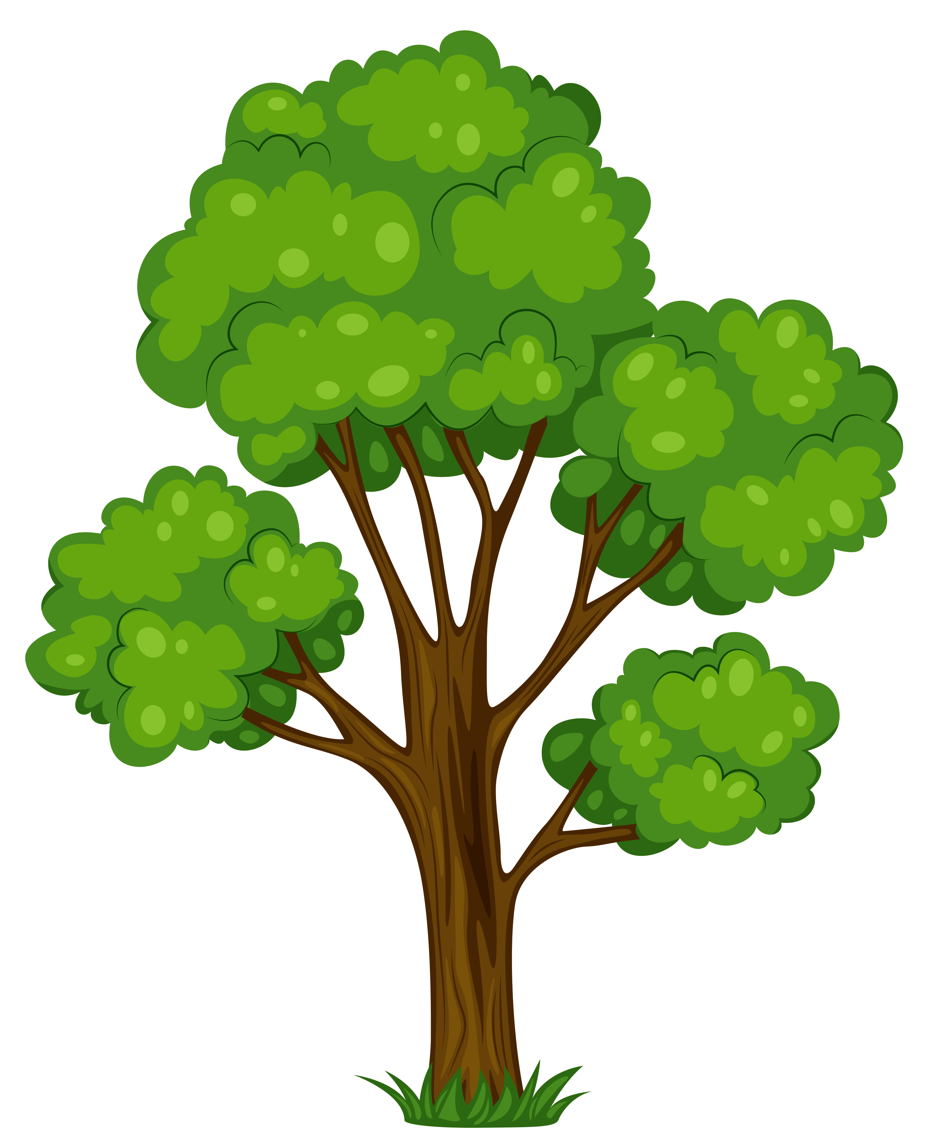 Tree clip art tree clipart clipartcow