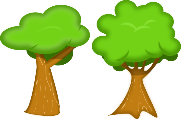 Tree clipart 2 clip art tree clipartcow