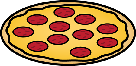 Whole pepperoni pizza clip art whole pepperoni pizza image