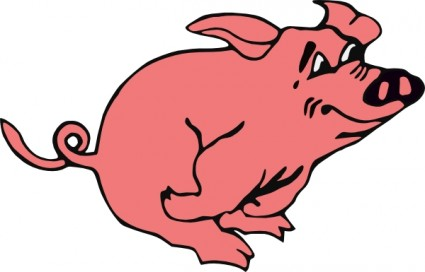 Cartoon pig clip art free vector for free download about free 2
