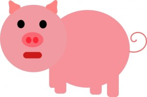 Cartoon pig clip art free vector for free download about free 3
