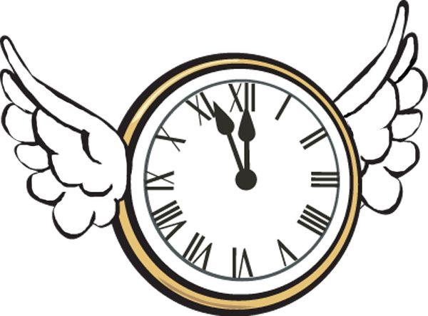 Clock clip art at vector clip art free image