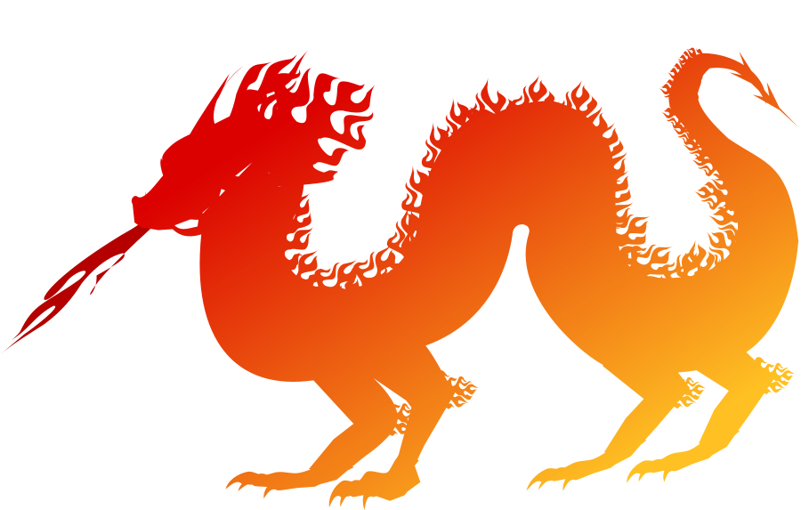 Dragon medium pixel clipart vector clip art clipartsfree