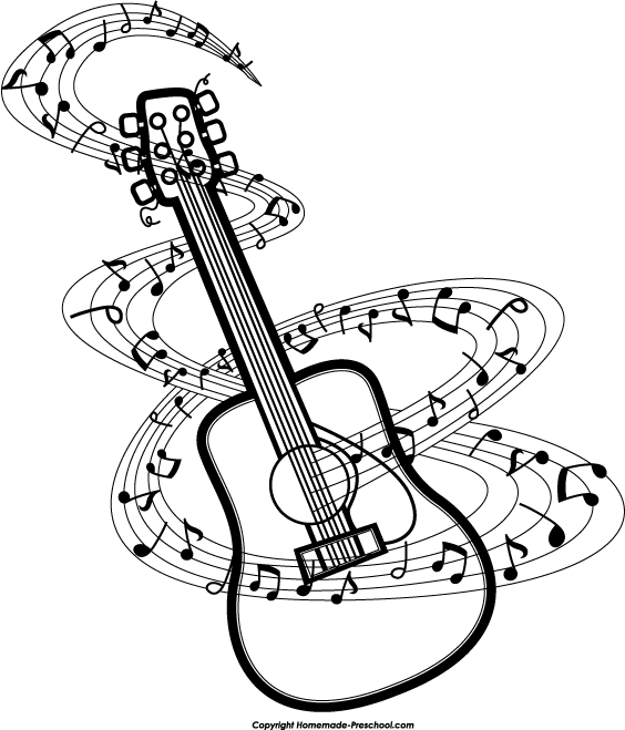 Free acoustic guitar clip art free vector for free download about