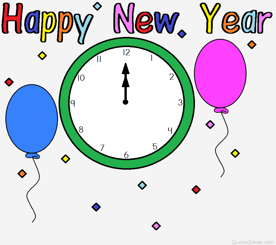 Free clip art happy new year 6 6