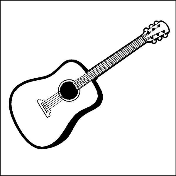 Free guitar clipart the cliparts 2