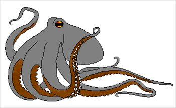 Free octopus 1 clipart free clipart graphics images and photos