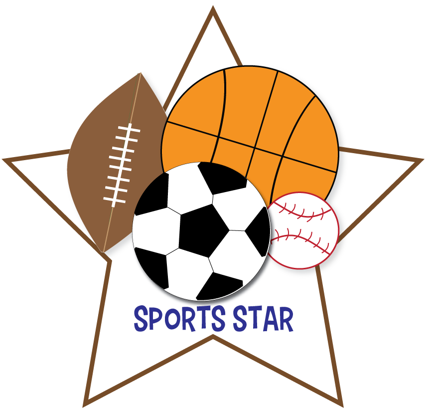 Free sports clipart for parties crafts school projects websites