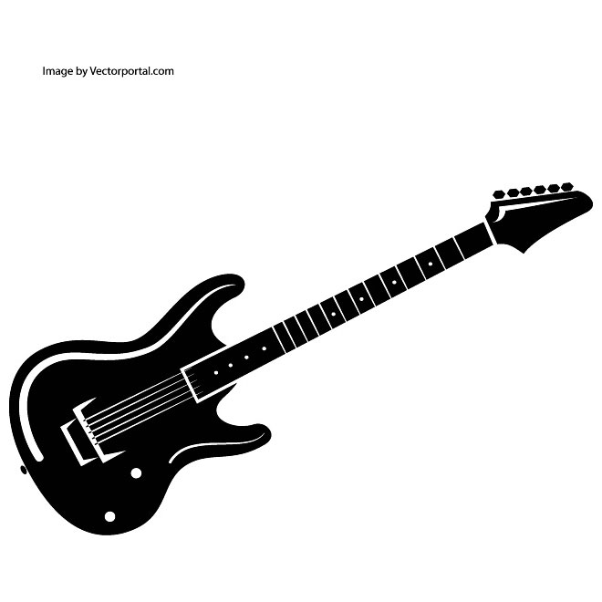 Guitar clip art vectors download free vector art clipartix 4