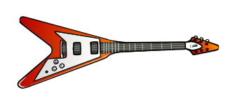 Guitar clipart free music graphics