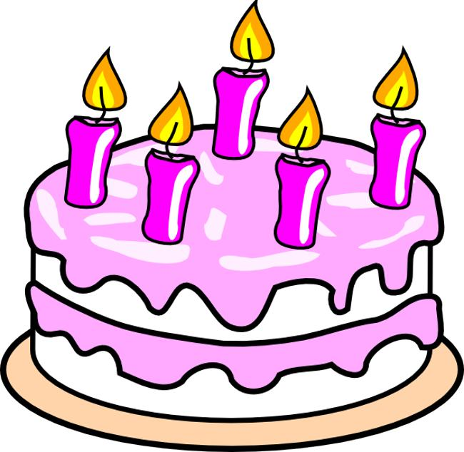 Happy birthday cake clipart free vector for free download about 1
