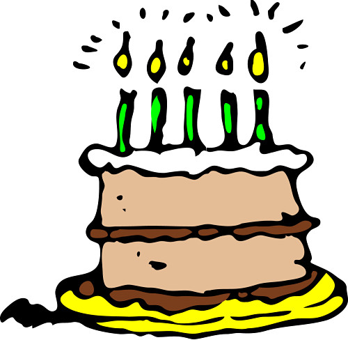 Happy birthday november clip art 5 1