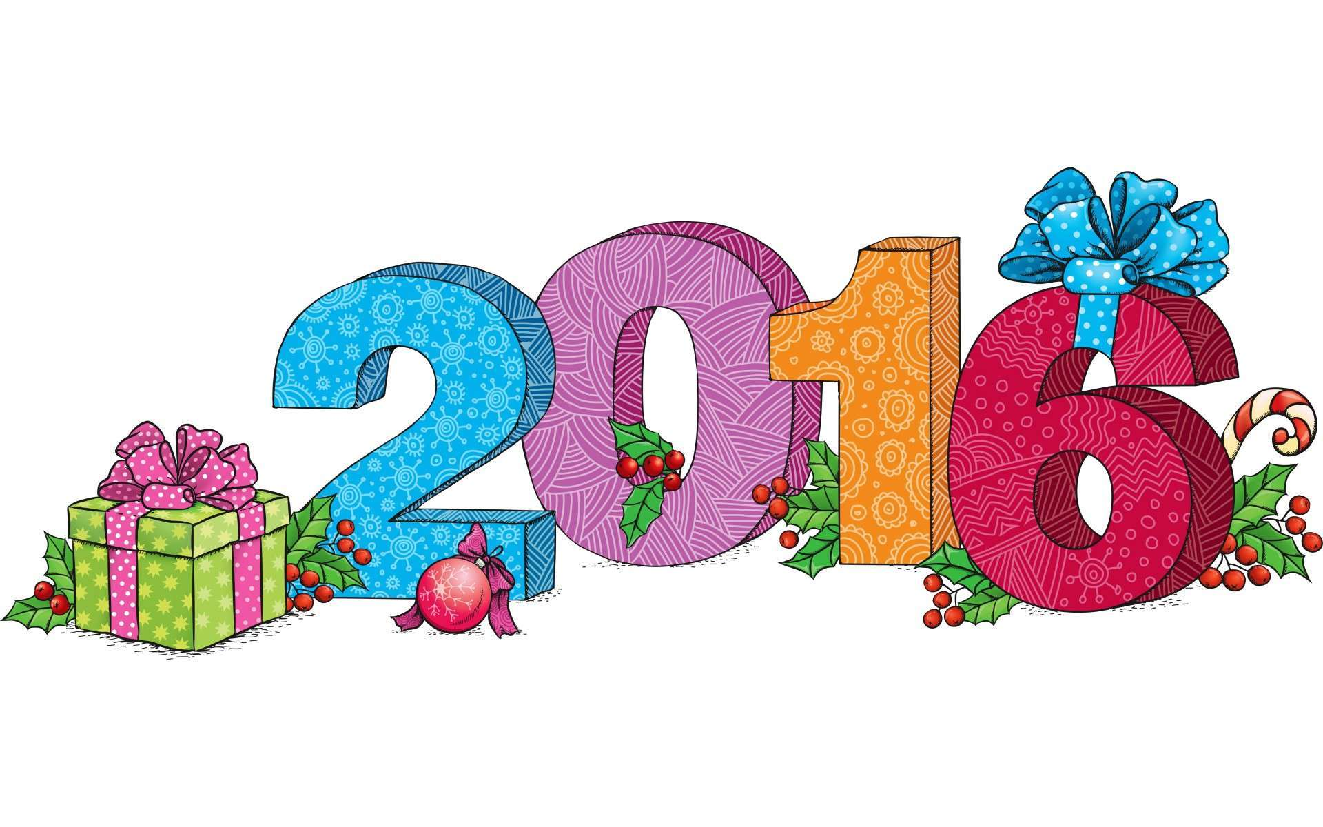 Happy new year 6 clip art 2