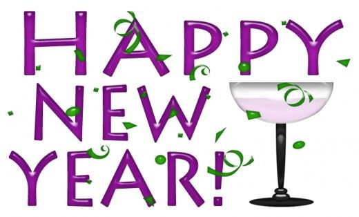 Happy new year clip art 4