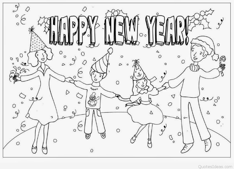 Happy new year clip art 5